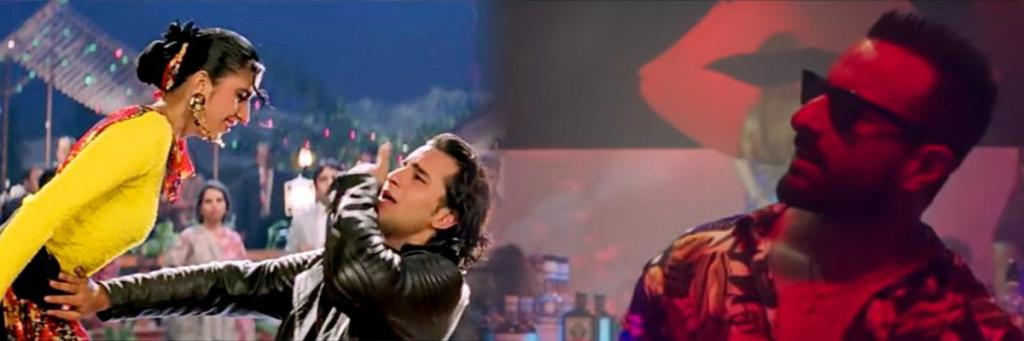 ole ole hindi song starring saif ali khan remixed in jawaani dewaani hindi bollywood movie