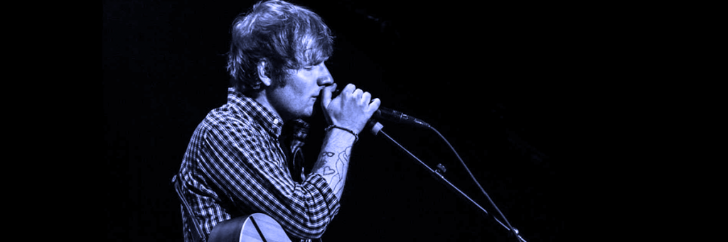 world fame music artist ed sheeran