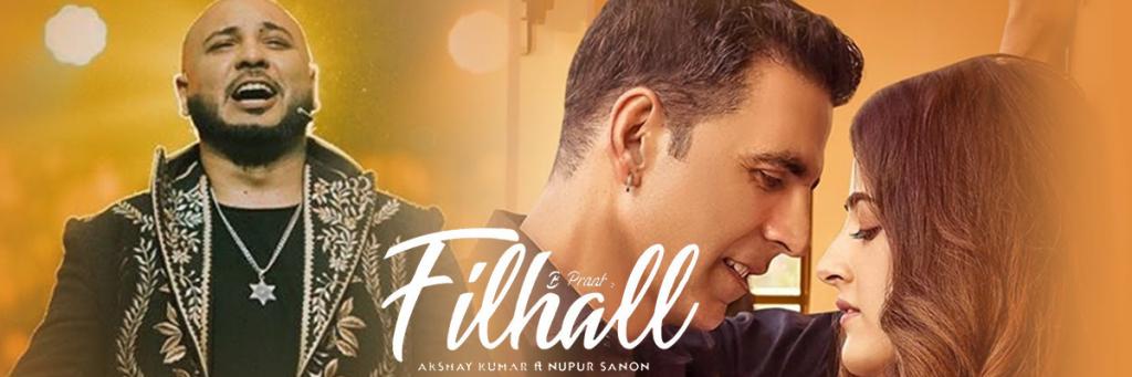 filhanl song starring Akshay Kumar and Nupur Sanon sung B Praak.