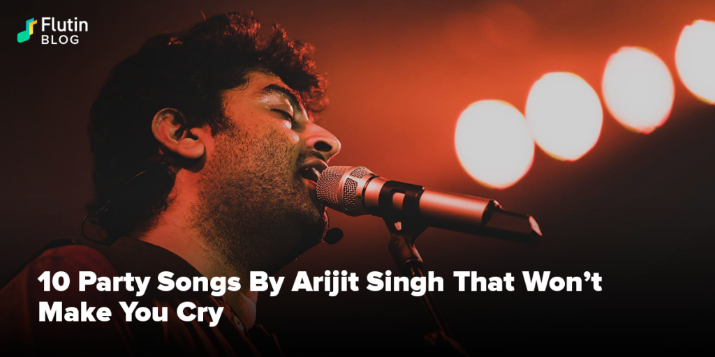 Arijit Singh's party songs that will not make you cry. Arijit Singh's Bollywood melodious singer