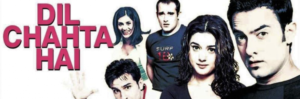 aamir khan, akshay khanna starrer dil chahta hai movie 15 Classic Hindi Comedy Movies