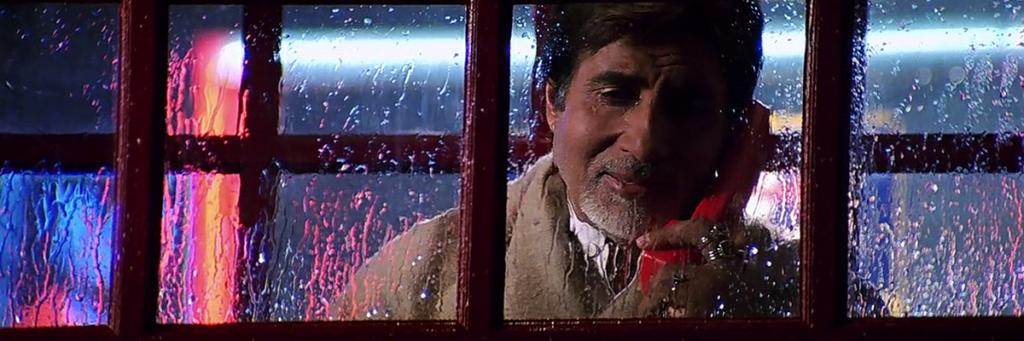Bollywood cult movie Baghban starring Amitabh Bachchan and Hema Malini.
