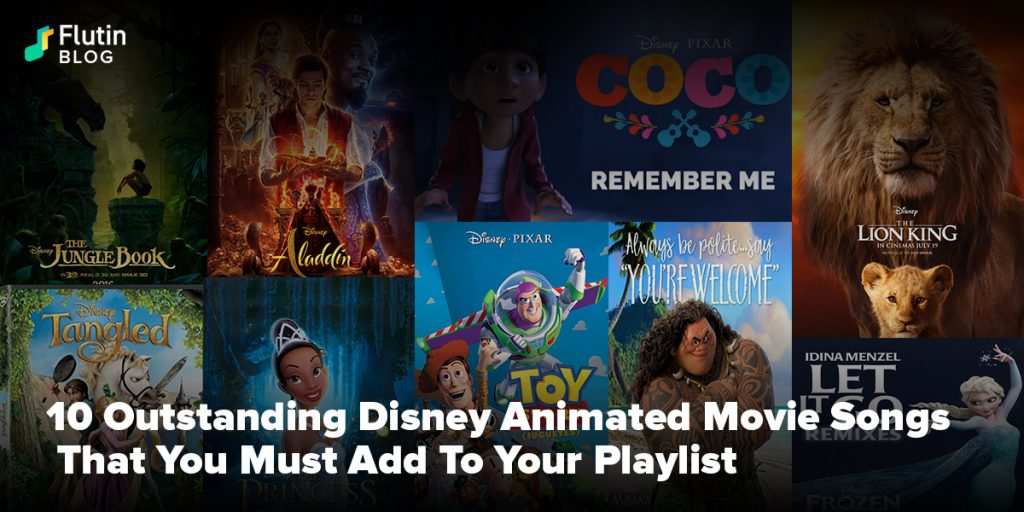 Disney Animated Movie Songs
