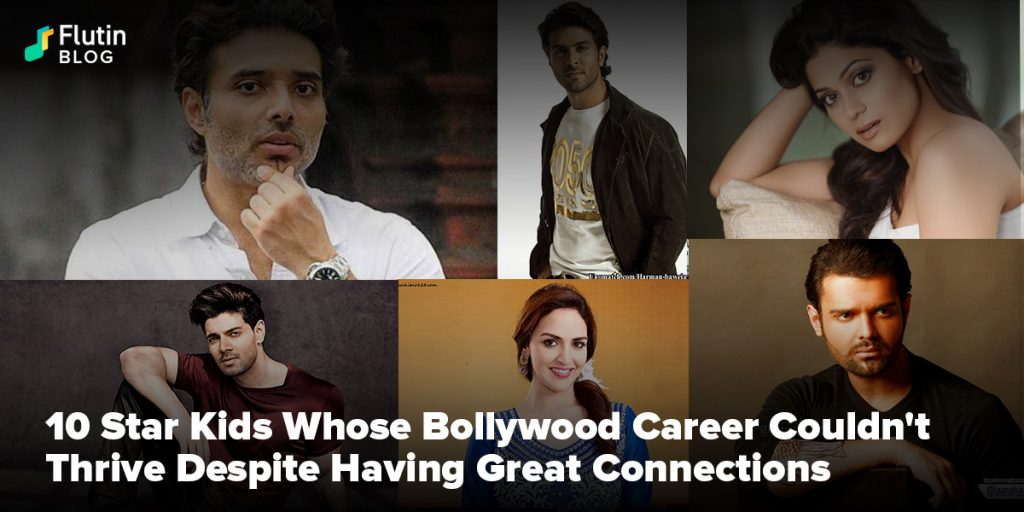 Star Kids Whose Bollywood Career Couldn't Thrive