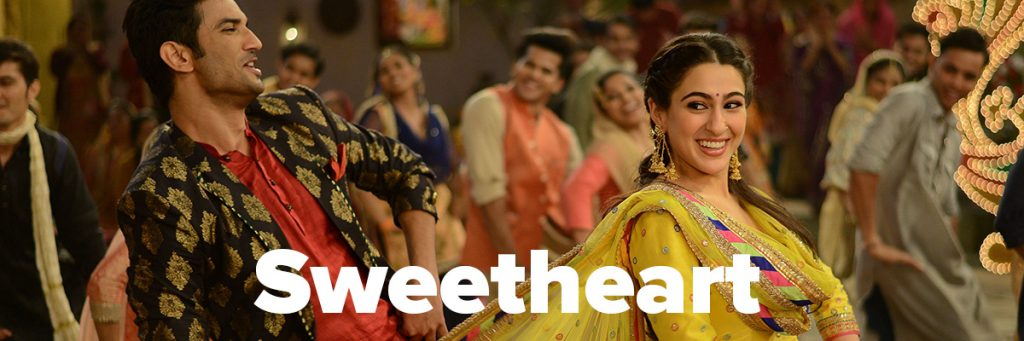 Sweetheart song from the movie Kedarnath Most Popular Sushant Singh Rajput's Songs