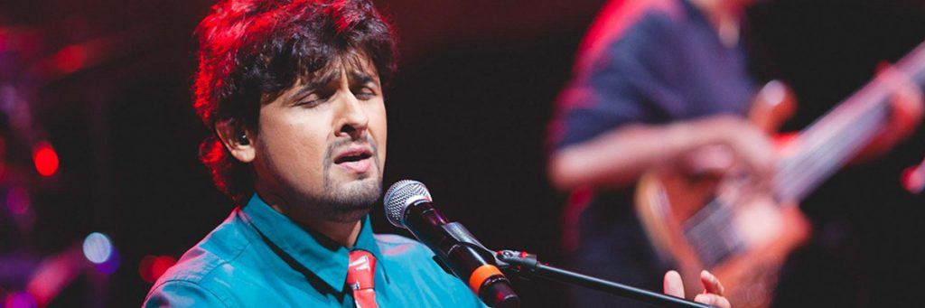 Sonu Nigam, The Indian Singer with a melodious Voice.