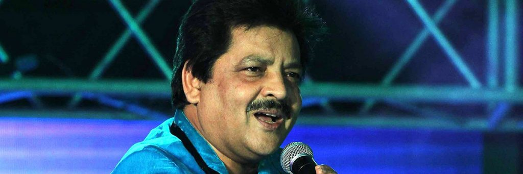 Udit narayan another stelwart of bollywood. Indian Singer