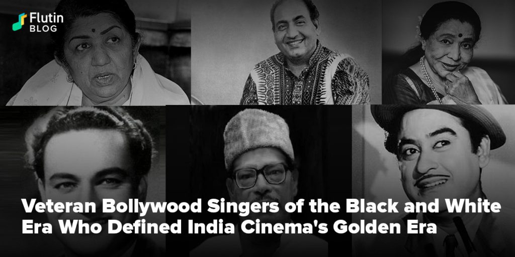 Veteran Bollywood Singers of the Black and White Era