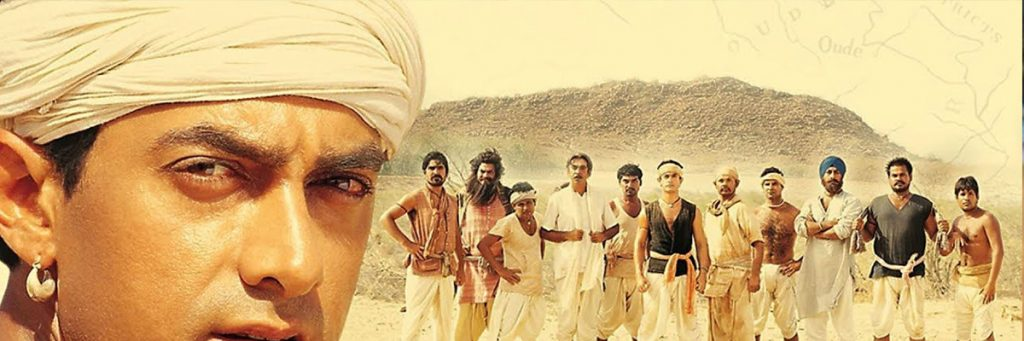 Aamir khan in lagaan the bollywood movie based on cricket