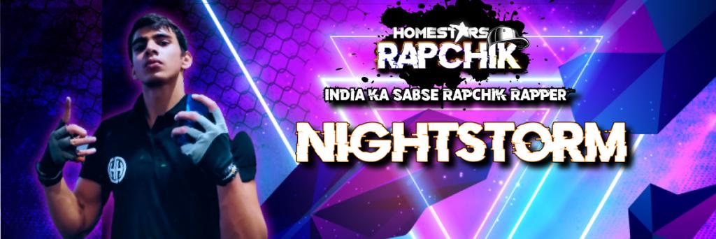 Harshit Hooda a.k.a Nightstorm best rappers