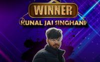 kunal jai singhani the winner of homestars rapchik