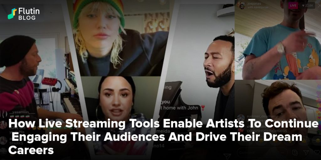 Live Streaming Tools Enable Artists