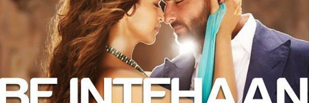 be intehaan song by rahul vaidya starring saif ali khan and Deepika padukone