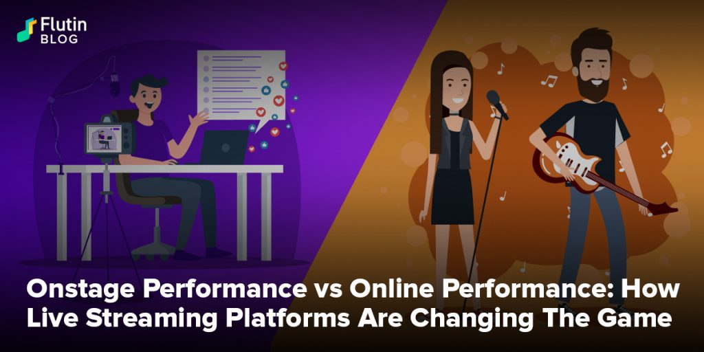 Onstage Performance vs Online Performance