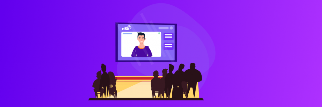 live interaction with your audiences