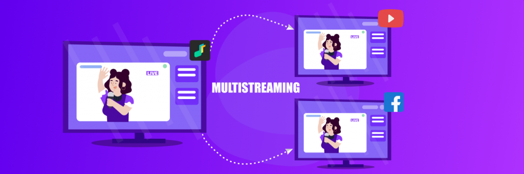 live stream directly to all your social media channels