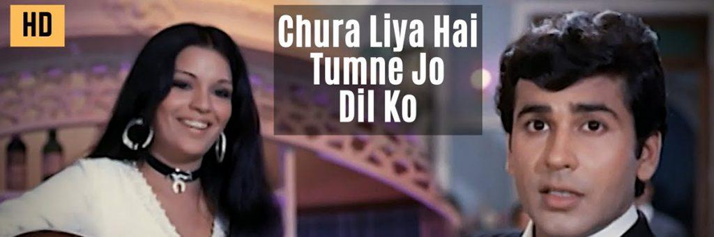 Chura Liya hai tumne jo dil ko Bollywood