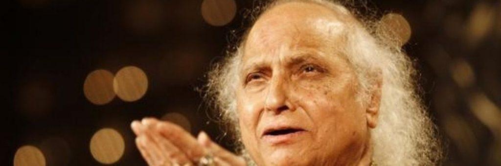 Pandit Jasraj was a prominent Indian classical vocalist