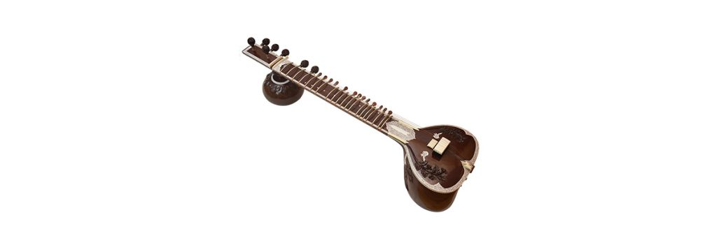 Indian musical instrument sitar
