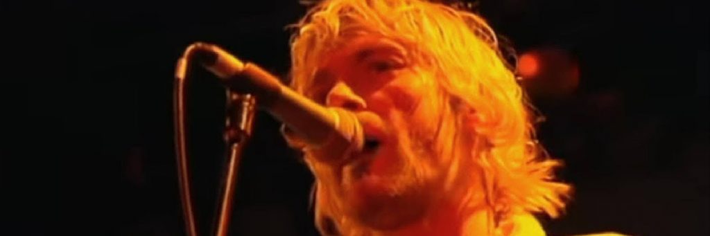 kurt cobain nirvana vocalist