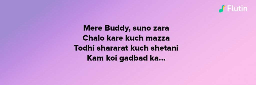 mere buddy song from the movie bhootnath starrer Amitabh Bachchan