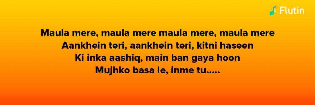 Maula Mere song iconic Bollywood Hit