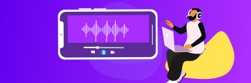 Monitor your sound quality before going live