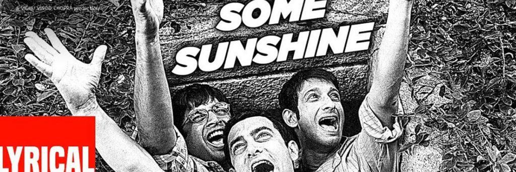 Aamir Khan sharman Joshi and R Madhavan song from the movie 3 Idiots