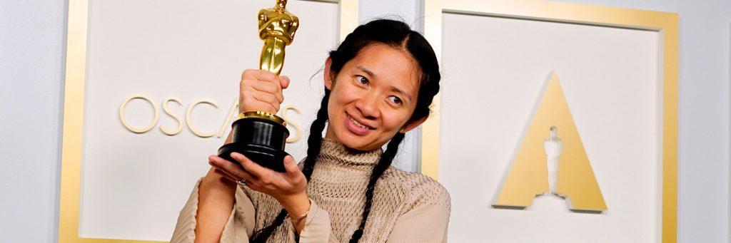 Chloé Zhao bags the Best Director award oscars 2021