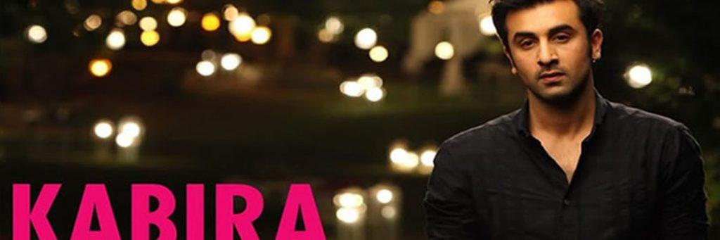 Ranbir Kapoor song Kabira sung by arijit singh from the movie Yeh jawaani hai dewaani