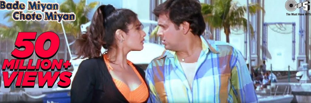 Govinda and Raveena tandon starrer Disco Me jaaye song karaoke hindi songs