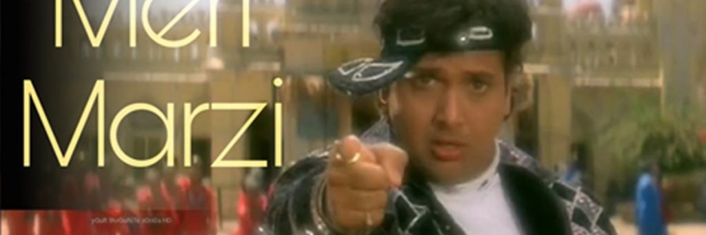 Bollywood Superstar Govinda song Meri Marzi
