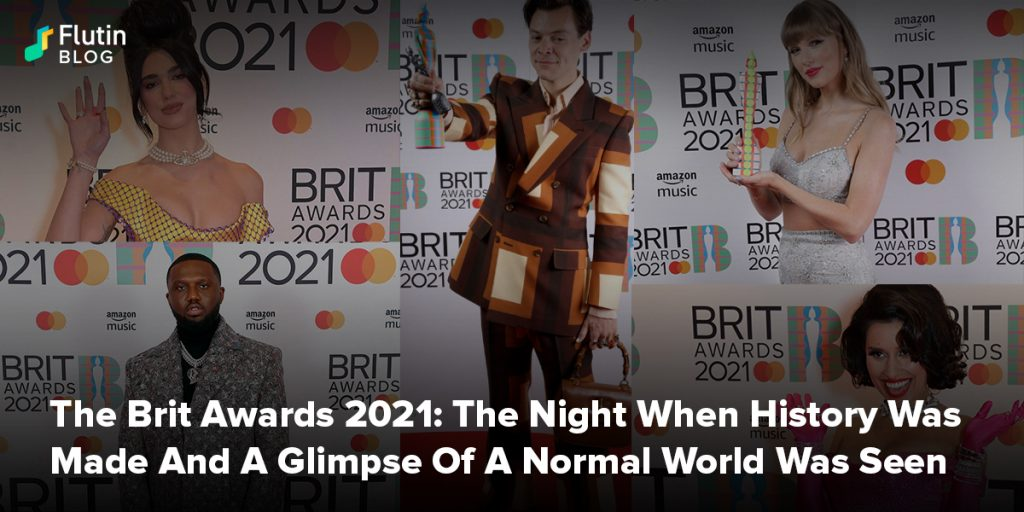 The Brit Awards 2021: The Night When History Was Made And A Glimpse Of A Normal World Was Seen