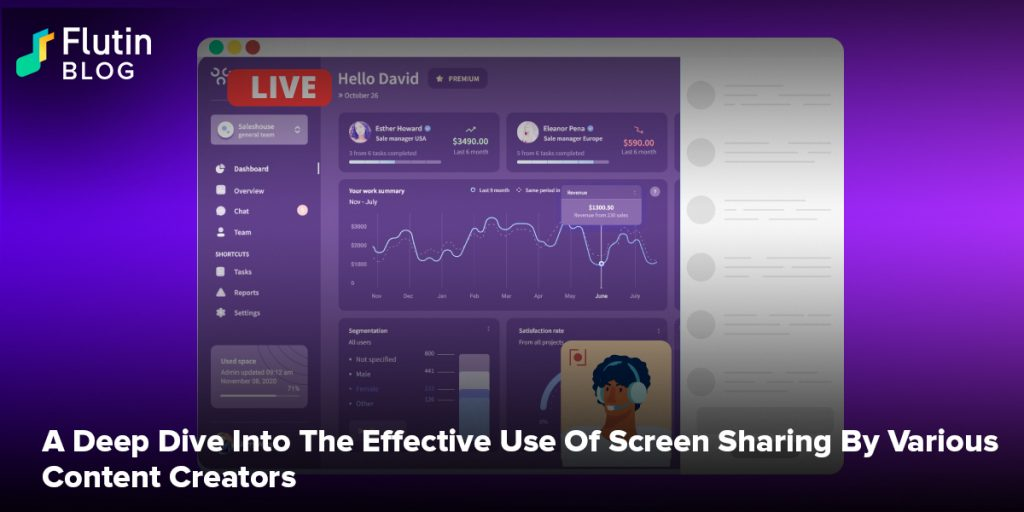 A Deep Dive Into The Effective Use Of Screen Sharing By Various Content Creators