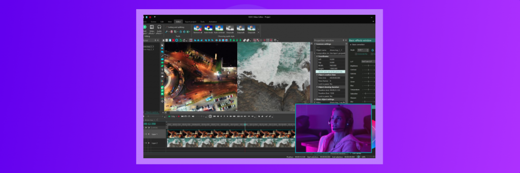 video editors and photographers live streaming tool
