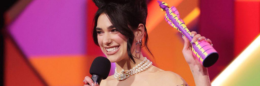 pop singer Dua Lipa Brit Awards 2021