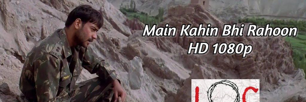 Main Kahin Bhi Rahoon Song starrer Bollywood Superstar Ajay Devgn