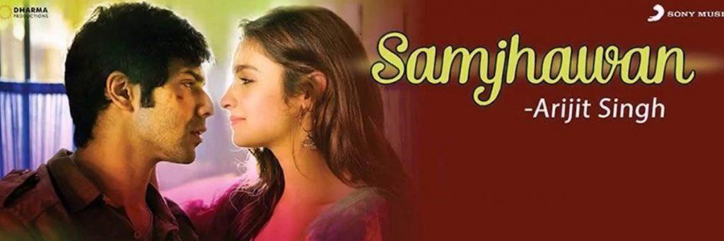Samjhawan song Varun Dhawan Alia Bhatt Arijit singh