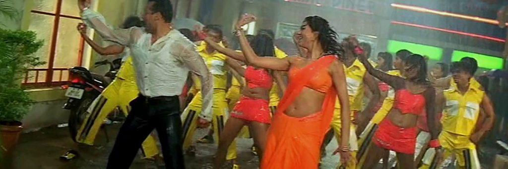 Salman Khan with Miss Universe Sushmita Sen