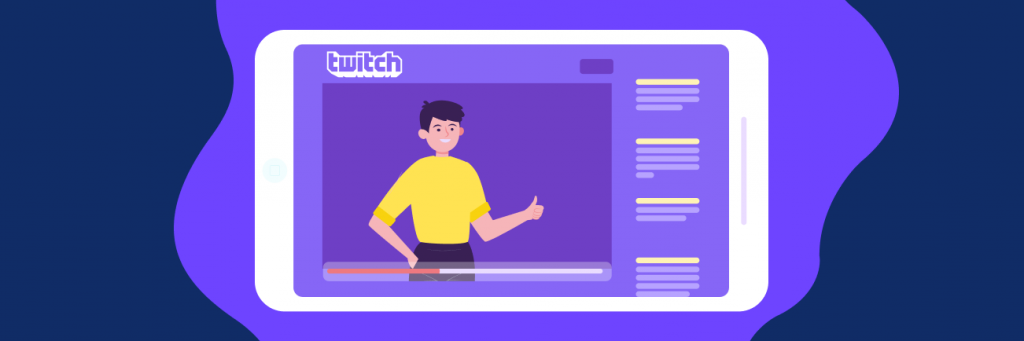 twitch live streaming for gaming purposes