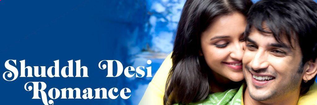 Parineeti Chopra Sushant Singh Rajput Sush Desi Romance Movie