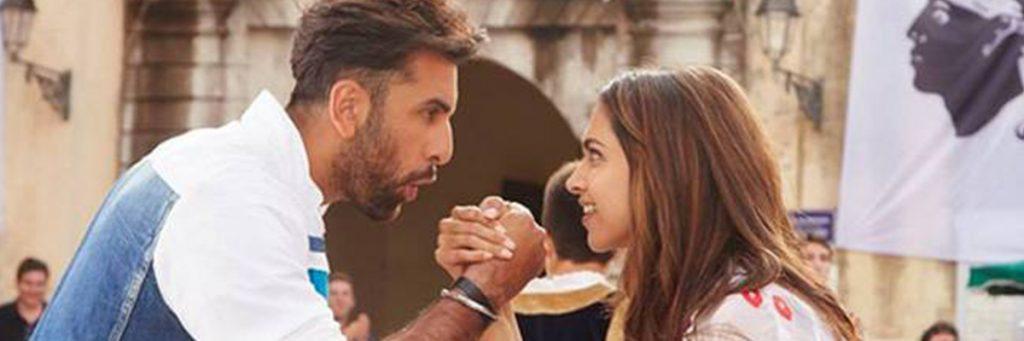 ranbir kapoor and deepika padukone in the movie matarghasti