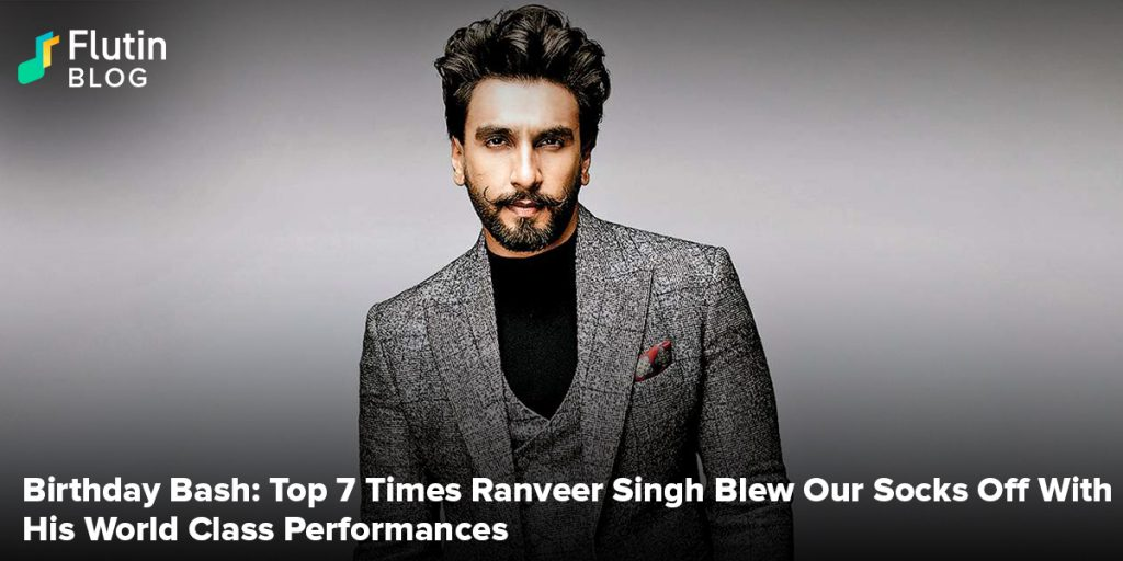 Birthday Bash: Top 7 Times Ranveer Singh Blew Our Socks Off With His World Class Performances