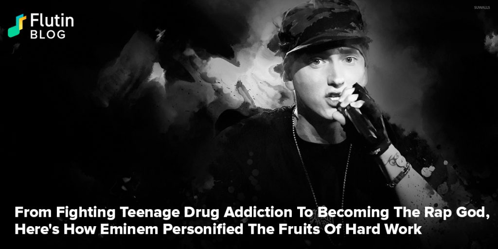 From Fighting Teenage Drug Addiction To Becoming The Rap God, Here's How Eminem Personified The Fruits Of Hard Work