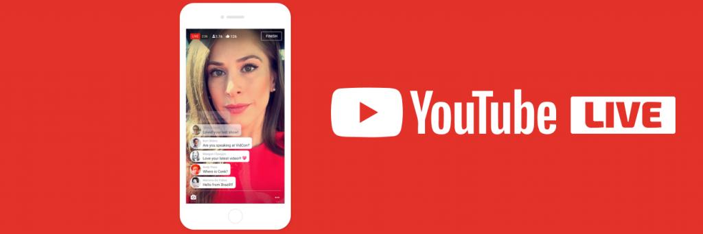 Youtube live the live streaming platform