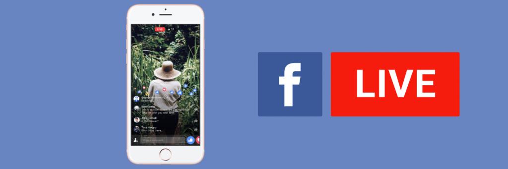 Facebook Live the lve streaming social media platforms