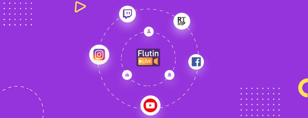 multistreaming platform flutin live premium