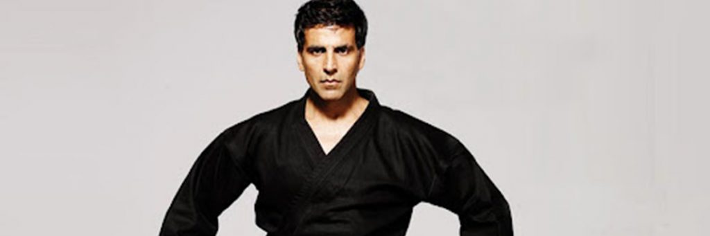 Akshay Kumar Black Belt