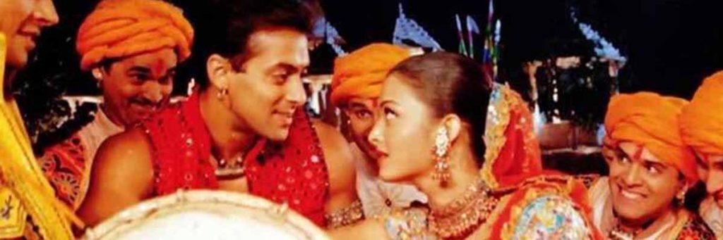 Salman Khan and Aishwarya Rai Dandiya Garba Song
